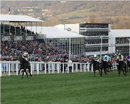 Cheltenham November Meeting - Steam Train & Entrance Tickets